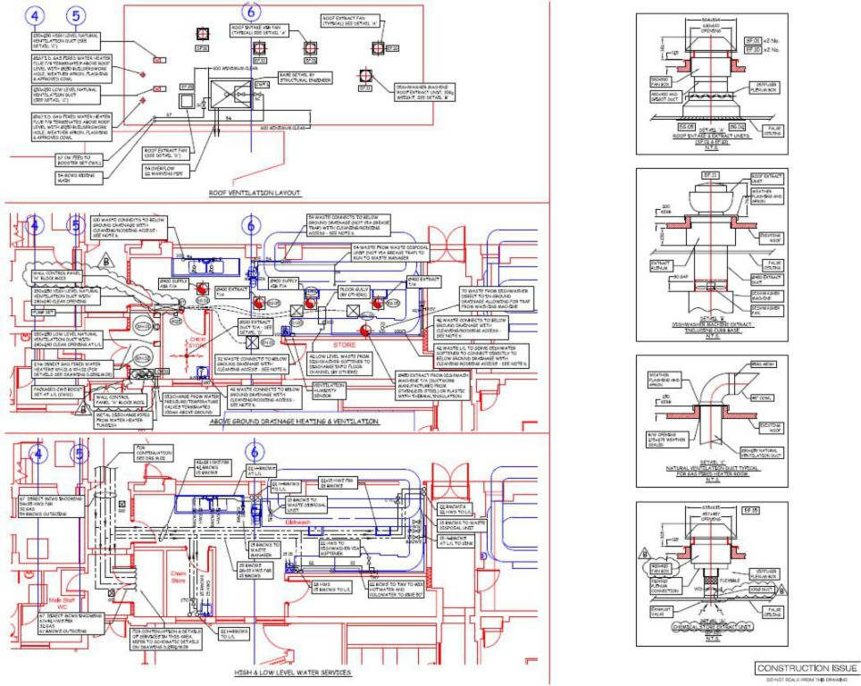 Mechanical Services Layout